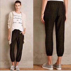 Cloth and Stone Anthropologie Joggers NWT l